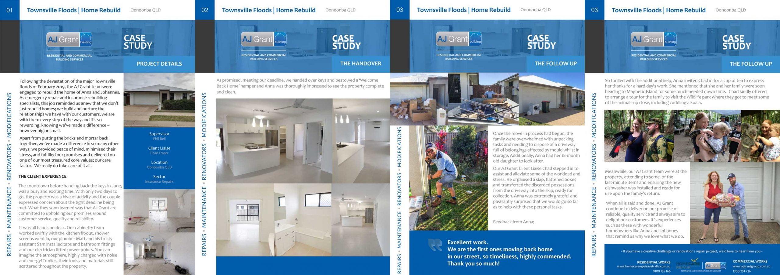 Townsville Floods Rebuild Oonoonba