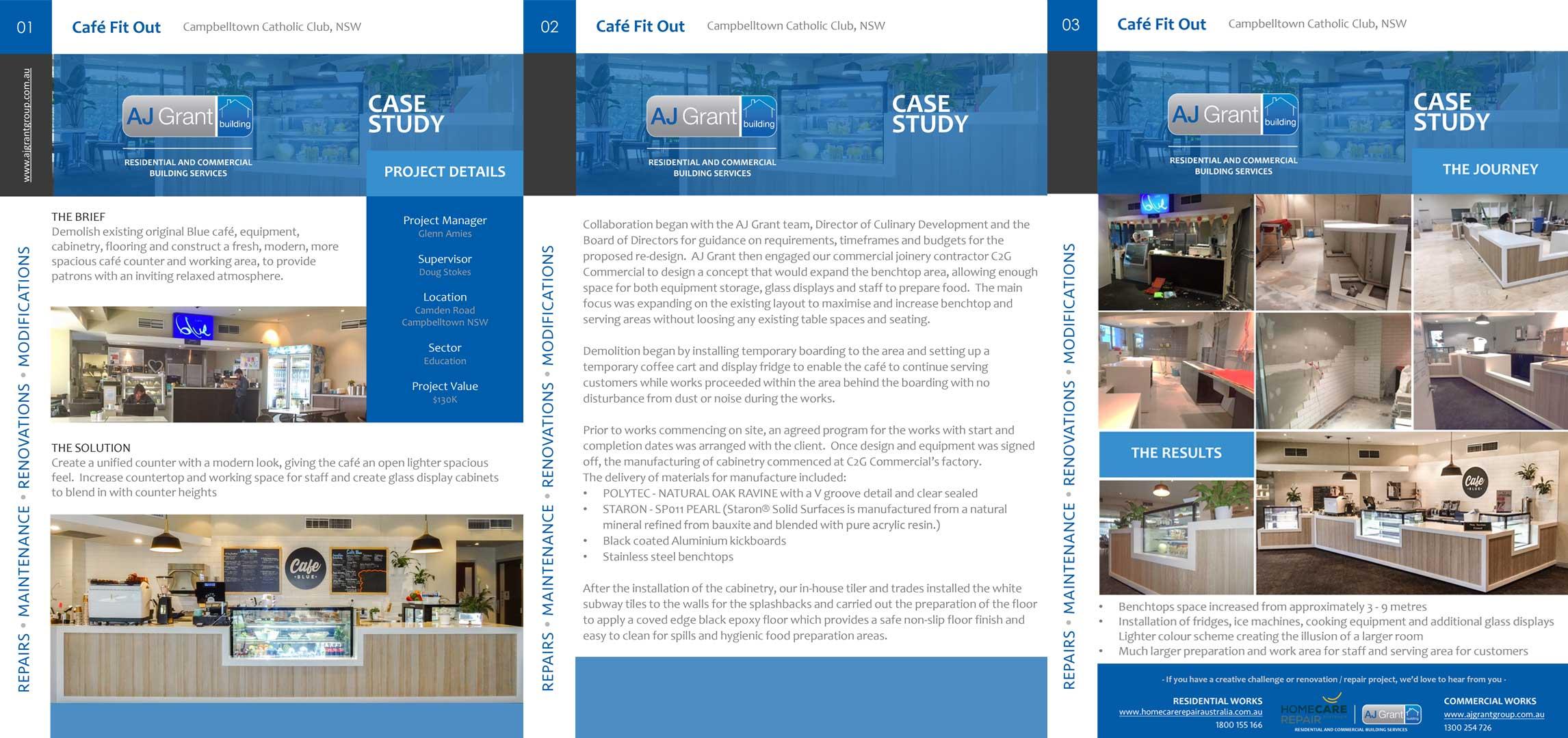Case Study Cafe